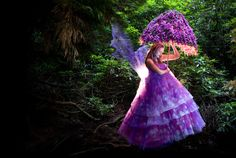 The Foxglove Fairy from the Wonderland series by Kirsty Mitchell
