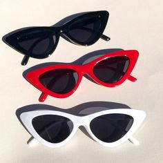 cdf15549ba Listed on Depop by cyberspaceshop. Red Cat Eye SunglassesSunnies ...