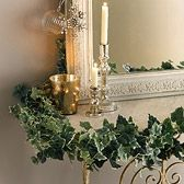 Christmas mantlepiece Decorations - The White Company