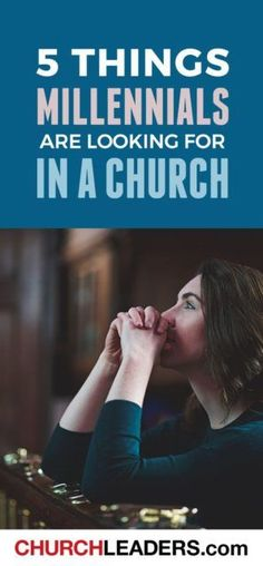 """One of the questions almost every church leader I know is asking is """"How do we reach Millennials?""""—that demographic of young adults now in their mid-twenties to age Ministry Leadership, Music Ministry, Church Ministry, Youth Ministry, Ministry Ideas, Leadership Quotes, Youth Leader, Worship Leader, Young Adult Ministry"""