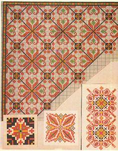 Gallery.ru / Фото #27 - efr - karadima Cross Stitch Borders, Cross Stitching, Cross Stitch Embroidery, Cross Stitch Patterns, Blackwork Patterns, Embroidery Patterns, Cross Stitch Needles, Chart Design, Tapestry Crochet