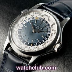 """Patek Philippe World Time Platinum - """"Complete Set"""" REF: 5110P 