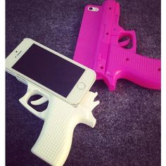 Gun Iphone 6 Case Protector ($40) ❤ liked on Polyvore featuring accessories and tech accessories