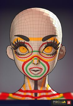 Pisciasa - Base mesh , Dzung Phung Dinh on ArtStation at https://www.artstation.com/artwork/eNq43