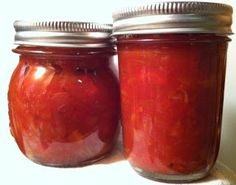 Tomato & Roasted Red, Orange, and Yellow Peppers! - Canning Homemade!