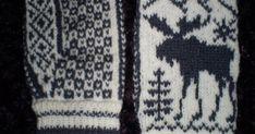 I høst begynte jeg å strikke votter til en av mine onkler, men allerede i oktober gikk han bort og siden er bunningen bare blitt liggende. N... Norwegian Knitting, Crochet Mittens, Socks, Gardening, Patterns, Decor, Projects To Try, Tricot, Threading
