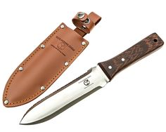 Hori Hori Knife - Ideal Gardening Tool - Ezy Garden Digging Companion - Sharp Stainless Steel Blade with Strong Wooden Handle and Leather Sheath - Tackles Soil with Ease - Lifetime Warranty >>> You can find more details by visiting the image link.