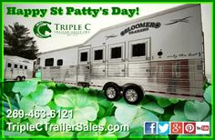 Happy St Patty's Day from Triple C Trailer Sales!