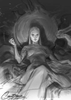 Raven by Charlie Bowater Inspiration Art, Art Inspo, Character Inspiration, Character Art, Art Sketches, Art Drawings, Pretty Art, Art And Illustration, Aesthetic Art