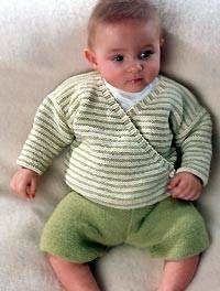 anleitung kostenlos kreaturin baby wickeljacke selbst gestrickt babysachen pinterest baby. Black Bedroom Furniture Sets. Home Design Ideas