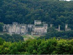 Derelict Welsh Castle - Gwrych Castle