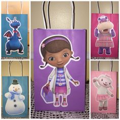 Doc Mcstuffins Favor Bags by SophiesPartyGoods on Etsy