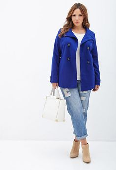 c13e2fcd5ff 10 Perfectly Polished Plus Size Coats Under  150