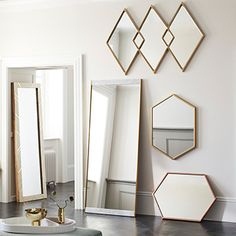 west elm offers modern furniture, homewares and home decor featuring inspiring designs & colors. Mirror Wall Art, Frame Wall Decor, Round Wall Mirror, Frames On Wall, Framed Wall Art, Bed Linen Sale, Linen Shop, West Elm Chandelier, Mobile Chandelier
