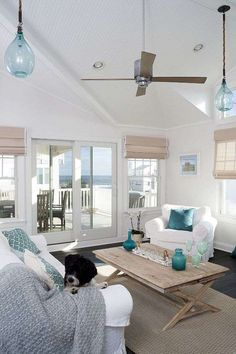 All Time Best Cool Ideas: Natural Home Decor Rustic Country Kitchens natural home decor living room coffee tables.Simple Natural Home Decor Guest Rooms natural home decor rustic window.Natural Home Decor Living Room Interior Design. Coastal Living Room, Nautical Living Room, Beach House Interior, House Styles, Luxury Homes, New Homes, House Interior, Coastal Decorating Living Room, Coastal Bedrooms