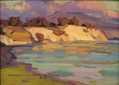 Beautiful piece by Wyllis Heaton, Santa Barbara artist   (Posted by Samuel Smith)