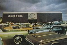 Vintage photo, Orbachs Department Store, California