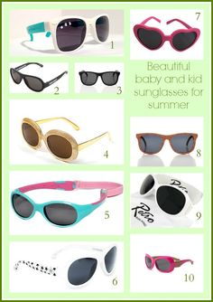 5231a50bd4a beautiful baby and kid sunglasses for summer Baby Sunglasses