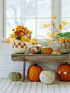 I love decorating for fall