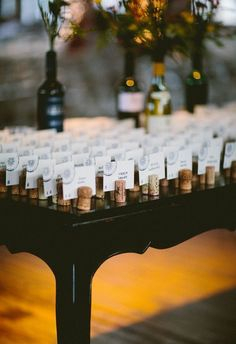 Gallery: Wine cork table number ideas - Deer Pearl Flowers