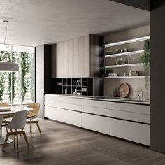 What You Need to Know About Fabulous Modern Kitchen Sets on Simplicity, Efficiency and Elegance The design is created up in a Turkish style. You have to understand what is it you wish to accomplish from your kitchen design. In… Continue Reading → Küchen Design, Home Design, Layout Design, Design Ideas, Design Trends, Modern Kitchen Interiors, Interior Design Kitchen, Eclectic Kitchen, Kitchen Modern