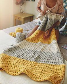 Hand Knitting, Knitting Patterns, Crochet Patterns, Knit Rug, Knit Crochet, Knitting Projects, Crochet Projects, Tapetes Diy, Crochet Decoration