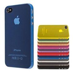 Compatibilidade iPhone 4s/4 Tipo Capa Traseira Duro/Macio Macia Cor Preto, Branco, Roxo, Amarelo, Azul, Rosa Material PC Atenção Produtos Importados Tempo de Envio: Correios Prioritário 10-20 dias úteis