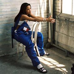 """Aaliyah- Loves overalls because they are comfortable and functional. Functional meaning has lots of pockets and get easily get her hands """"dirty"""". The crop top gives an amazing """"sexiness"""" that aye loves."""