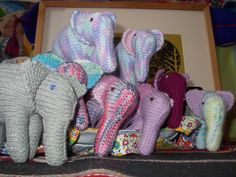 six ellie's commissioned by a friend, he had a few to choose from....