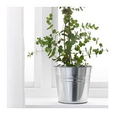 IKEA - SOCKER, Plant pot, The plant pot is galvanised to protect against corrosion.
