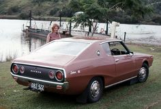 My very own Datsun 240K, I bought this 1972 coupe new also, it was at the time the best motor car I had ever owned, it was followed by a Mercedes so perhaps it lost that mantle to it.