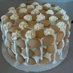 Banana Pudding Cake. Mmmm.