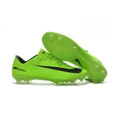 Nike Mercurical Victory VI FG Gron Svarta Fotbollsskor Rea c6783320b0530