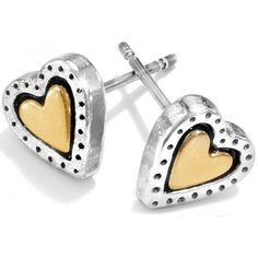 Brighton Avery Heart Rendezvous Mini Post Earring