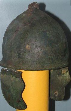 Montefortino helmet, 350-300 B.C. Higgins Armory museum