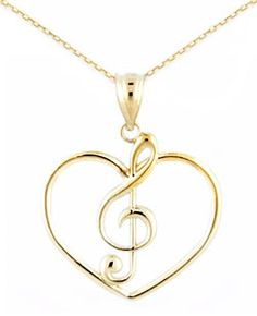 Elegant 14k Gold Heart Necklace and Free U.S. Shipping. Made in USA.