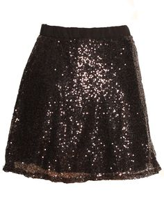 High Waisted Black Sequin Mini Skater Skirt £ 12.95 http://www.chiarafashion.co.uk/high-waisted-black-sequin-mini-skater-skirt.html #high #waisted #black #glitter #mini #skirt