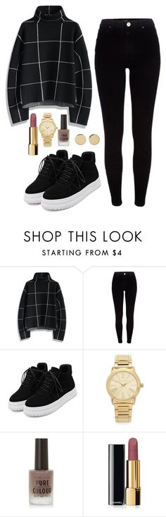 """""""Untitled #177"""" by marr-neubauerova on Polyvore featuring Chicwish, River Island, WithChic, Michael Kors, Chanel and Magdalena Frackowiak"""