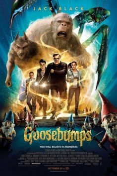 Goosebumps (2015) movie #poster, #tshirt, #mousepad, #movieposters2