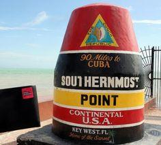 """Le point le plus au sud des États-Unis, Floride   (Thanks to """"les carnets de traverse"""")"""