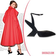 Sofia Vergara in Christian Dior Fall 2013 Ankle-Strap Pumps - ShoeRazzi