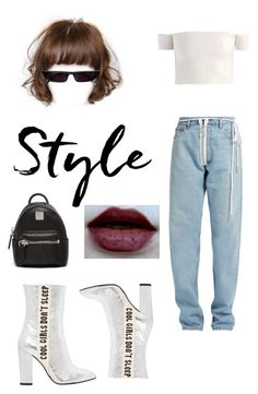 """New Orleans Jazz Festival 🌌"" by pamelyas on Polyvore featuring moda, Off-White, Havva ve MCM"