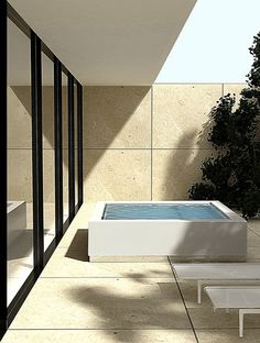 Outdoor whirlpools | Outdoor pools | Quadrat | Kos | Ludovica. Check it out on Architonic