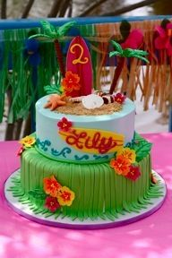 hawaiian birthday cake hawaiian birthday cake designs .