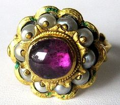 17th Century ring - would like reproduced.  Looks like something my grandma would wear.