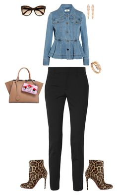GO TO SHOPPING MULLER by stylev on Polyvore featuring polyvore fashion style Fendi Gucci Christian Louboutin Bulgari clothing