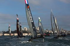 America's Cup San Francisco on October 4th