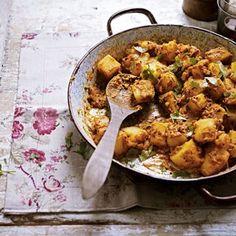 Bombay Potatoes Recipe - Easy Indian Recipe - Recipe by Anjum Anand