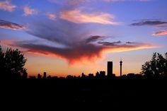 Joburg Sunset from Fine Art America