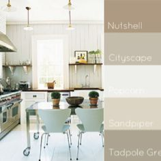 Palette for kitchen